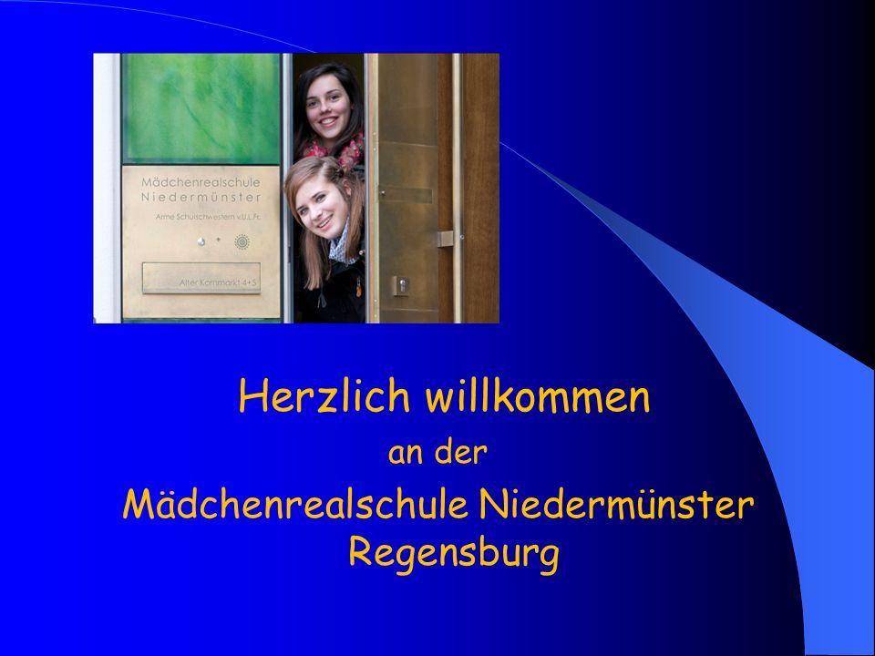 Mädchenrealschule Niedermünster Regensburg
