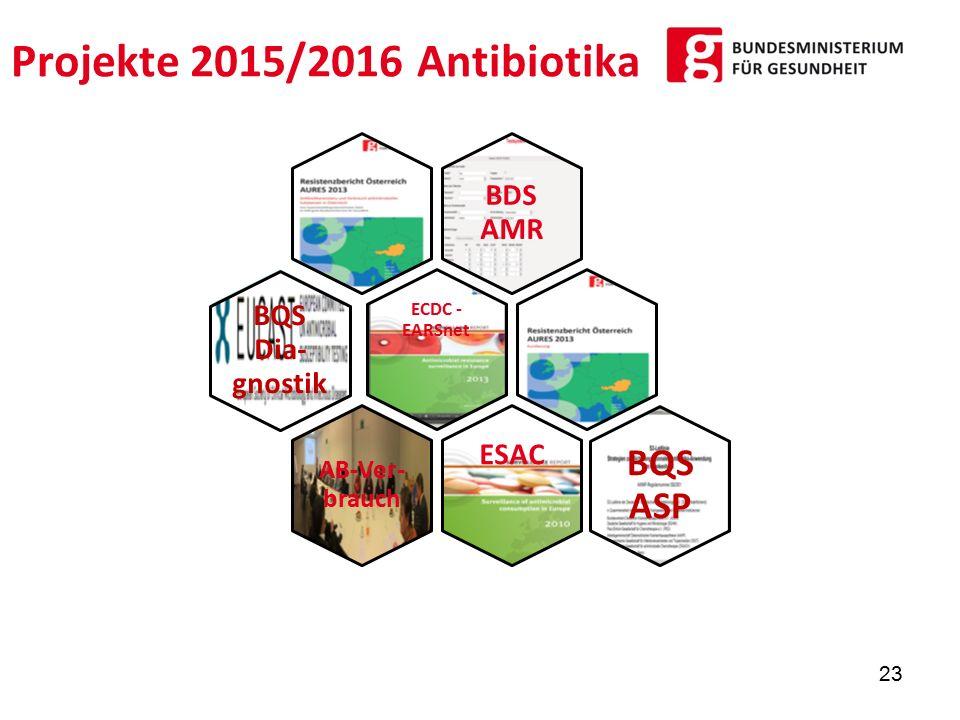 Projekte 2015/2016 Antibiotika