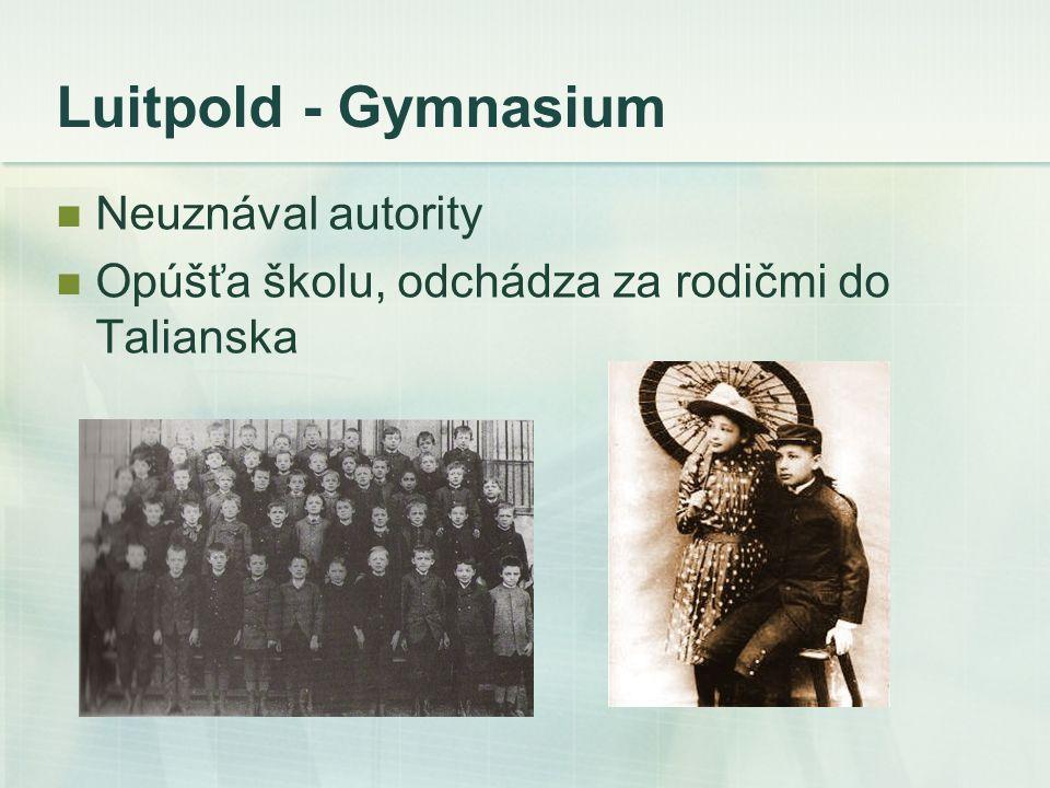 Luitpold - Gymnasium Neuznával autority