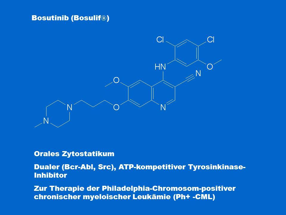 Dualer (Bcr-Abl, Src), ATP-kompetitiver Tyrosinkinase-Inhibitor