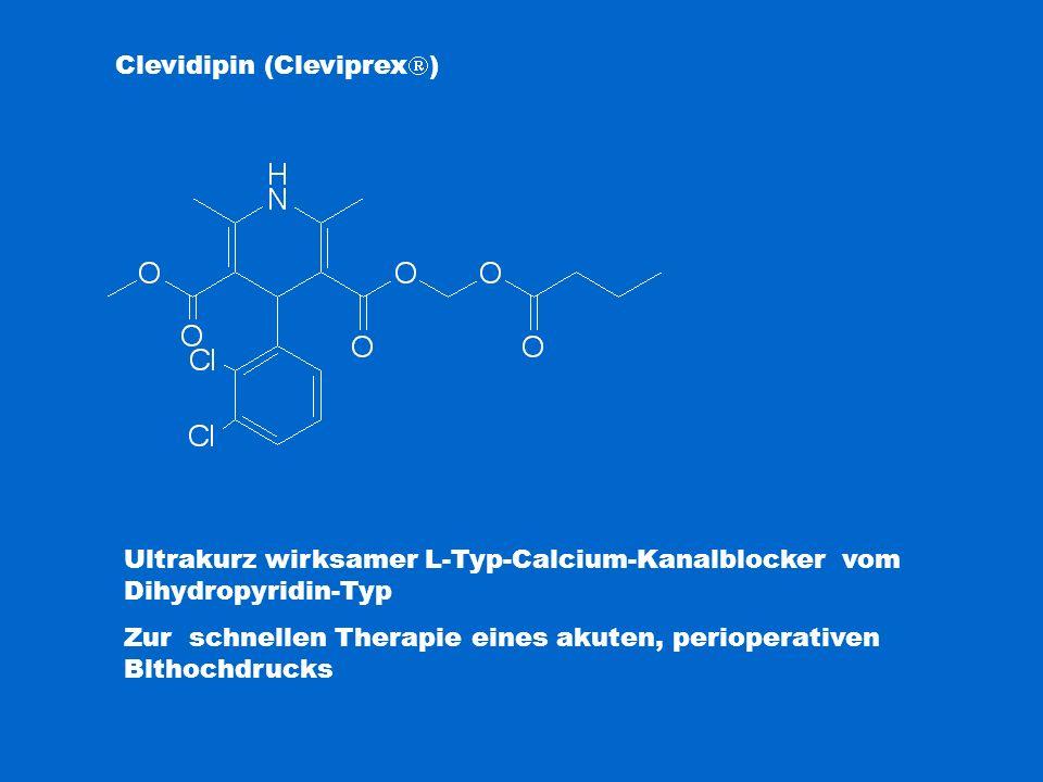 Clevidipin (Cleviprex)