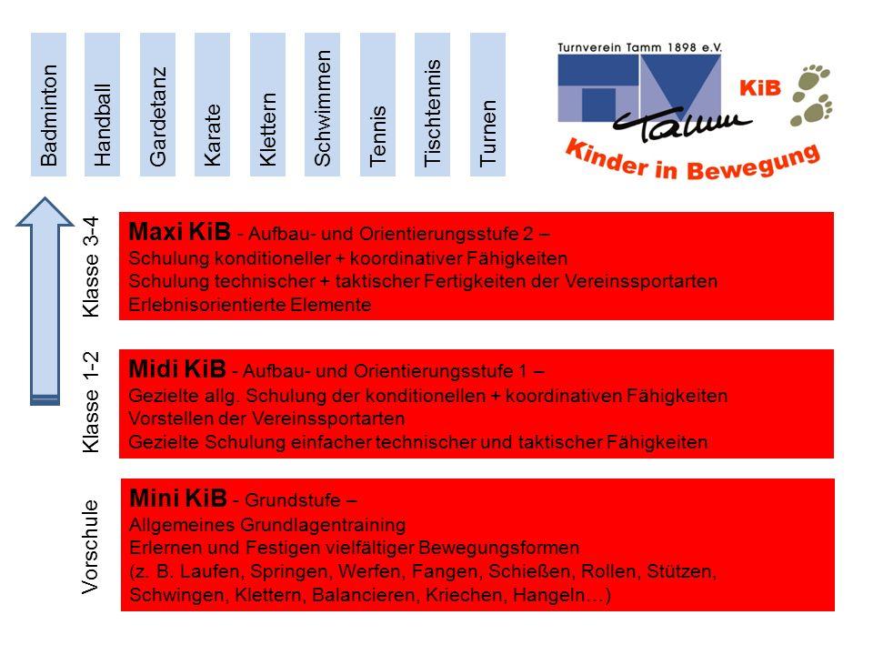 Maxi KiB - Aufbau- und Orientierungsstufe 2 –