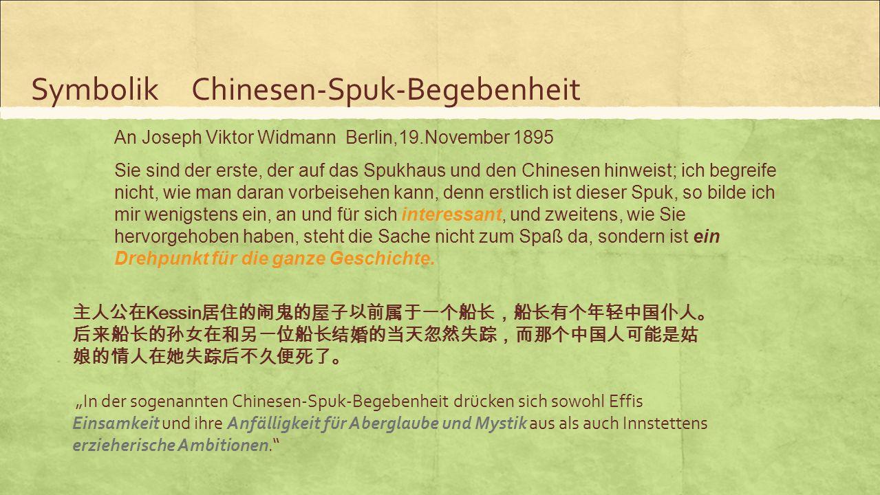 Symbolik Chinesen-Spuk-Begebenheit