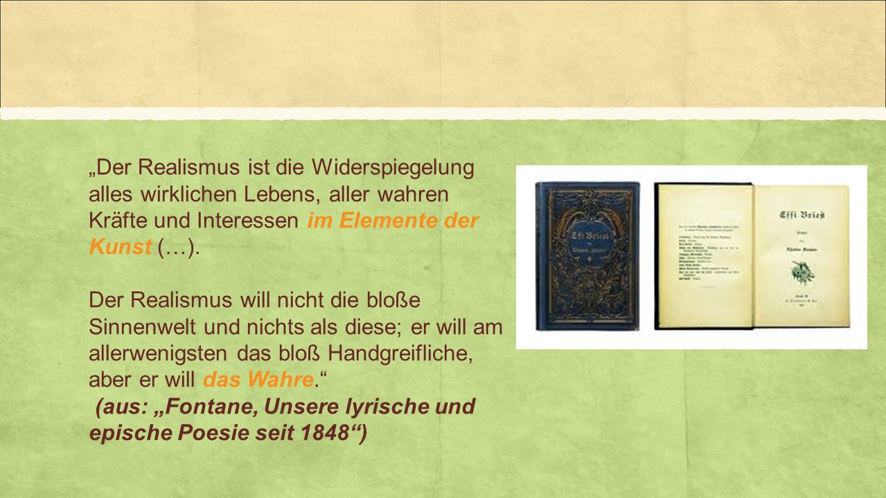 """(aus: """"Fontane, Unsere lyrische und epische Poesie seit 1848 )"""