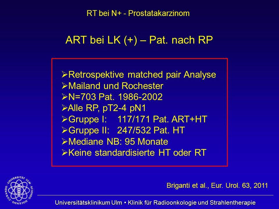 ART bei LK (+) – Pat. nach RP