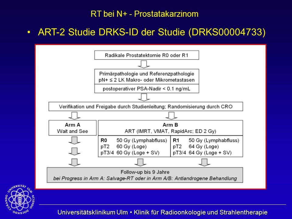 ART-2 Studie DRKS-ID der Studie (DRKS00004733)
