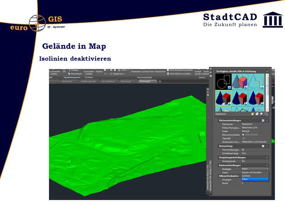 Gelände in Map Isolinien deaktivieren