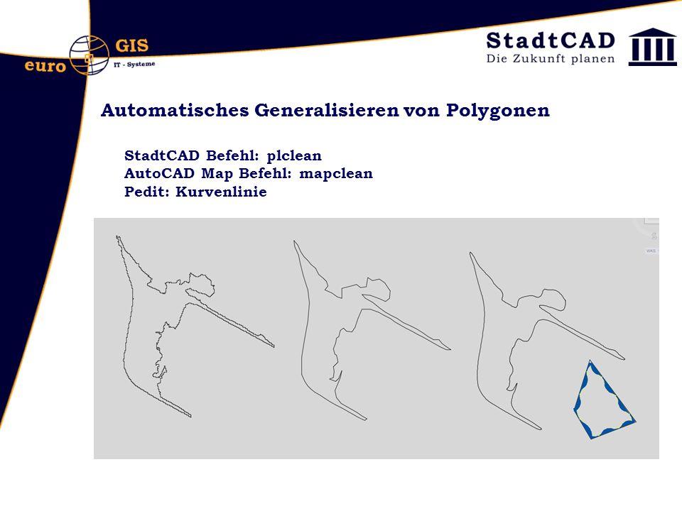 Automatisches Generalisieren von Polygonen