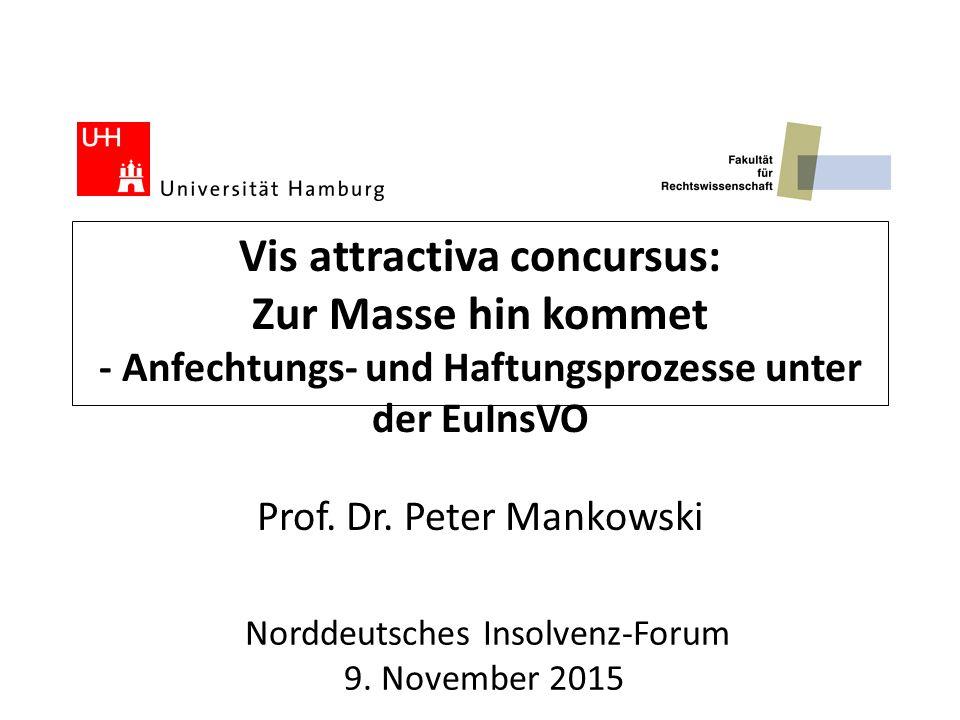 Norddeutsches Insolvenz-Forum