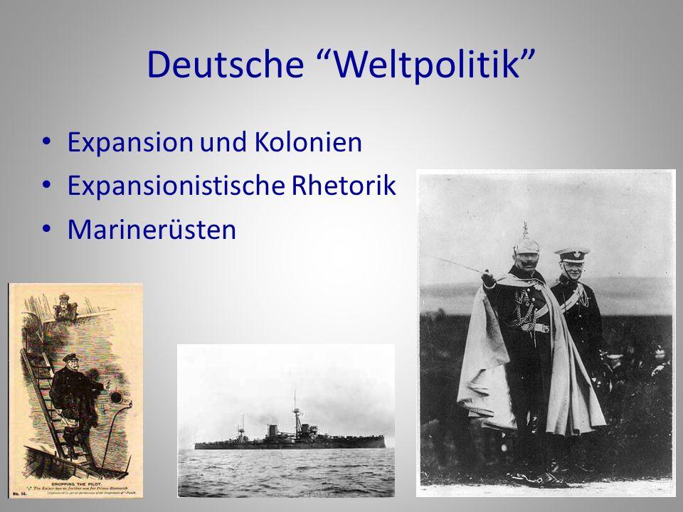 Deutsche Weltpolitik