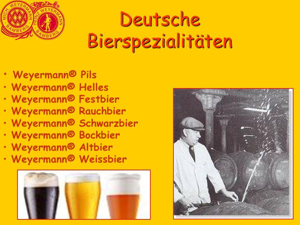 Deutsche Bierspezialitäten