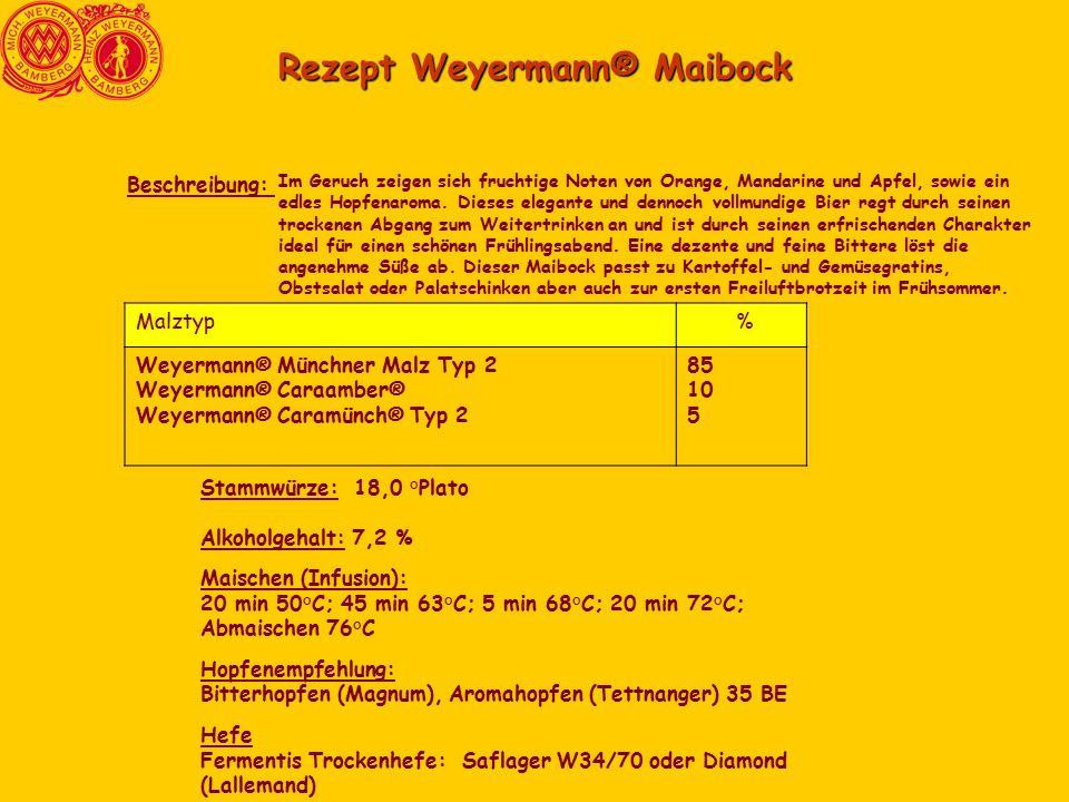 Rezept Weyermann® Maibock