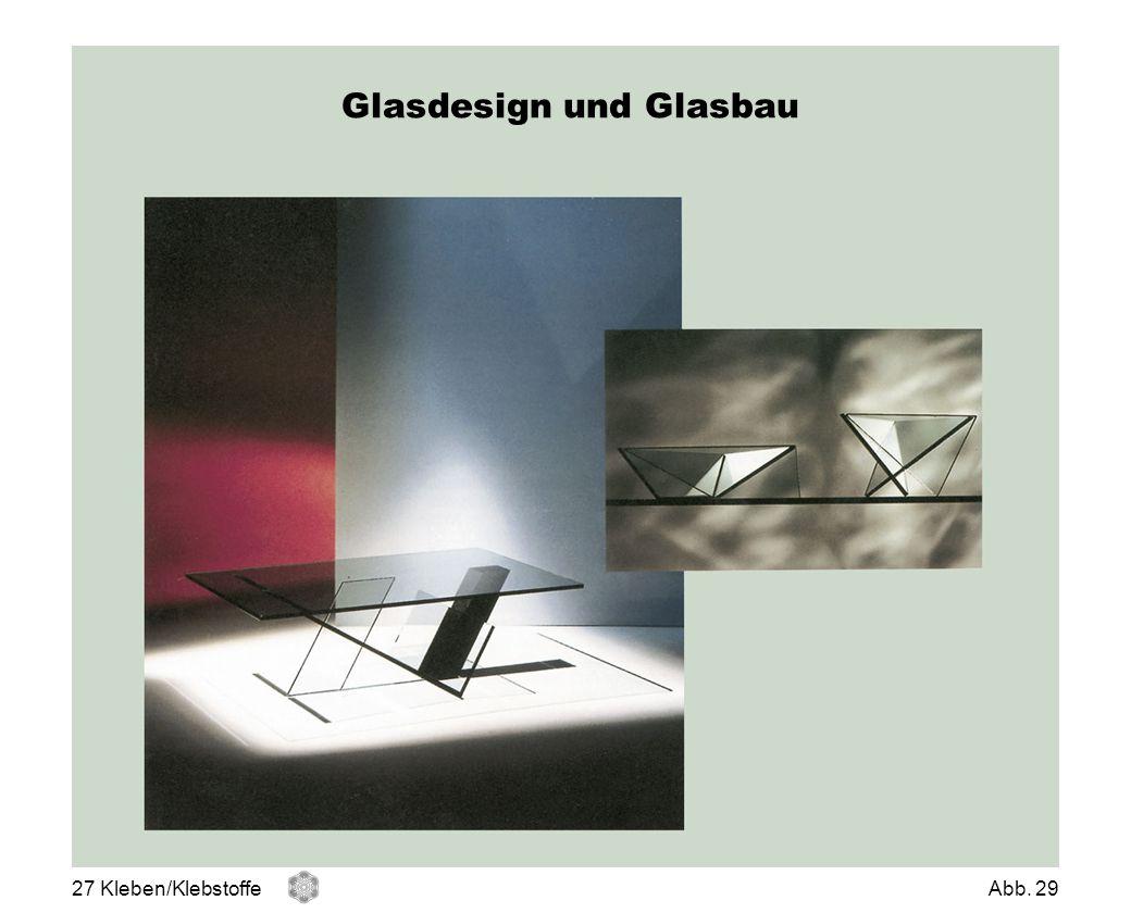 Glasdesign und Glasbau