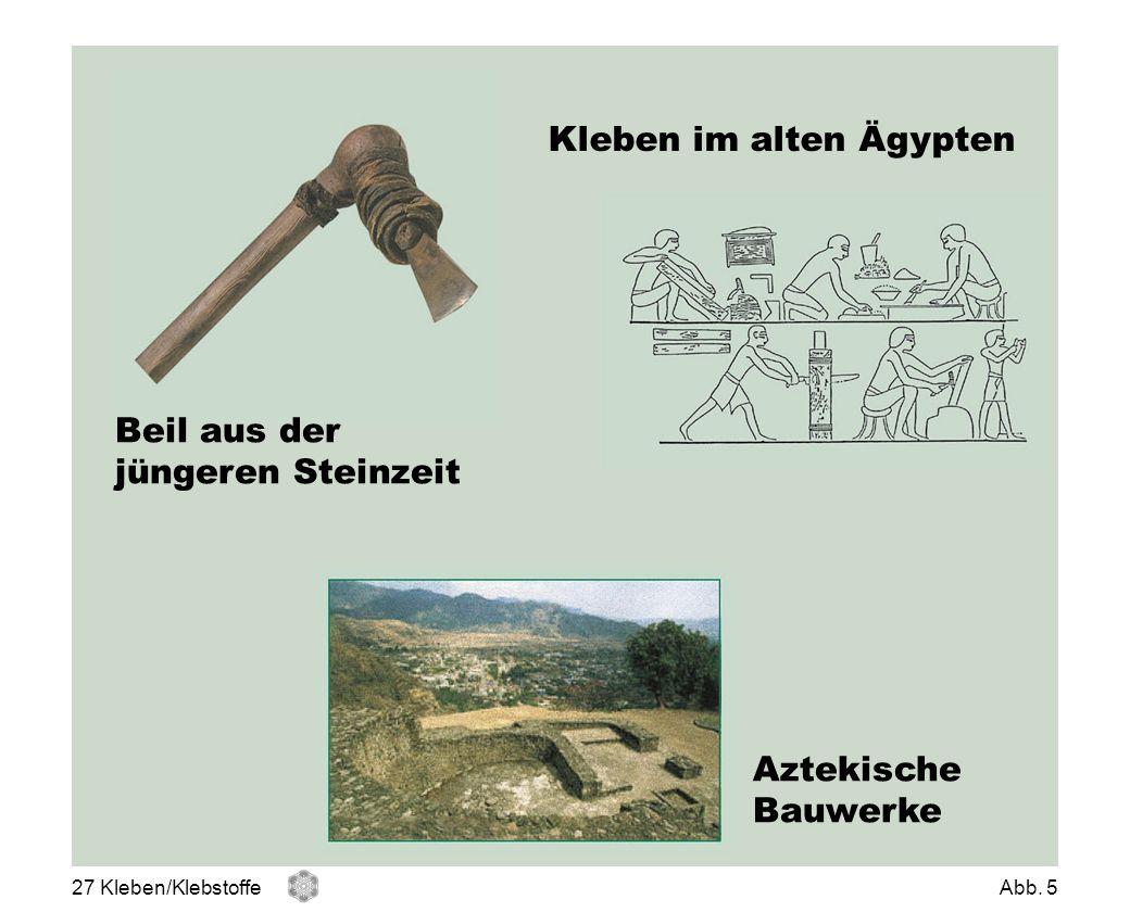 Kleben im alten Ägypten