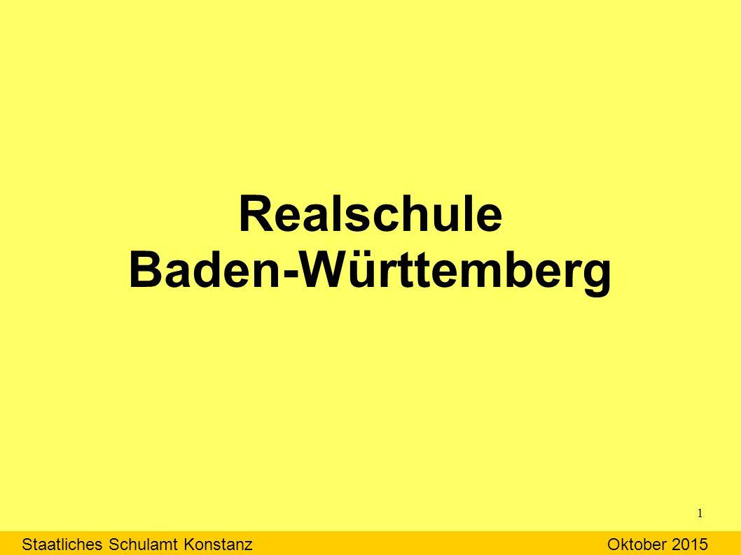 Realschule Baden-Württemberg