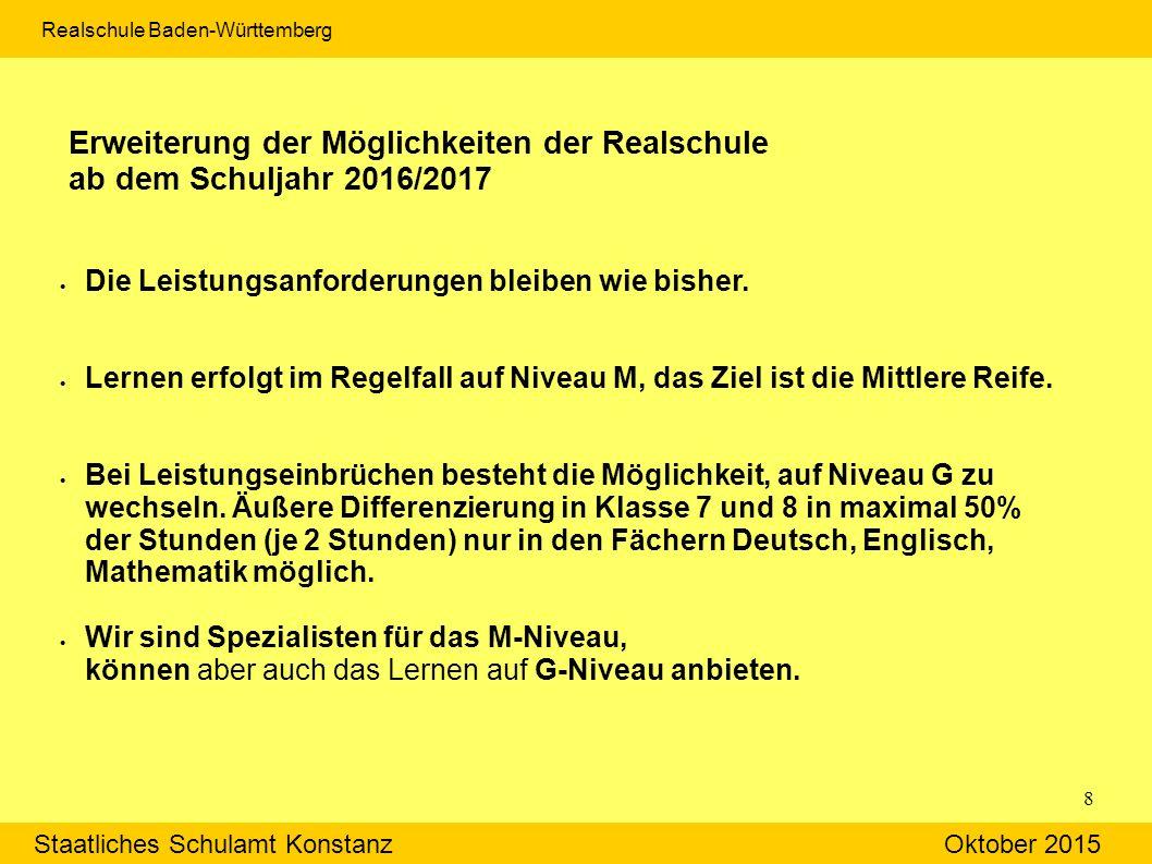 Staatliches Schulamt Konstanz Oktober 2015