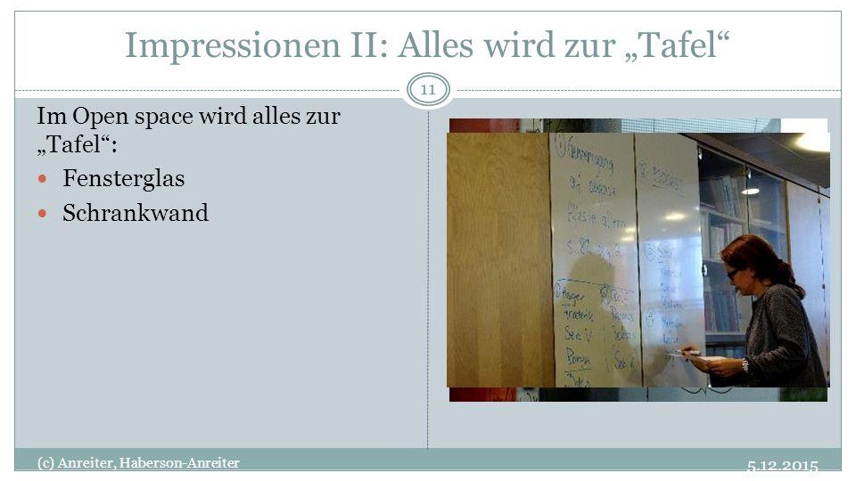 """Impressionen II: Alles wird zur """"Tafel"""