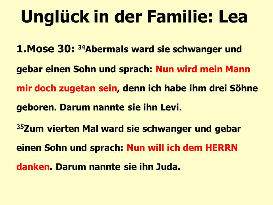 Unglück in der Familie: Lea