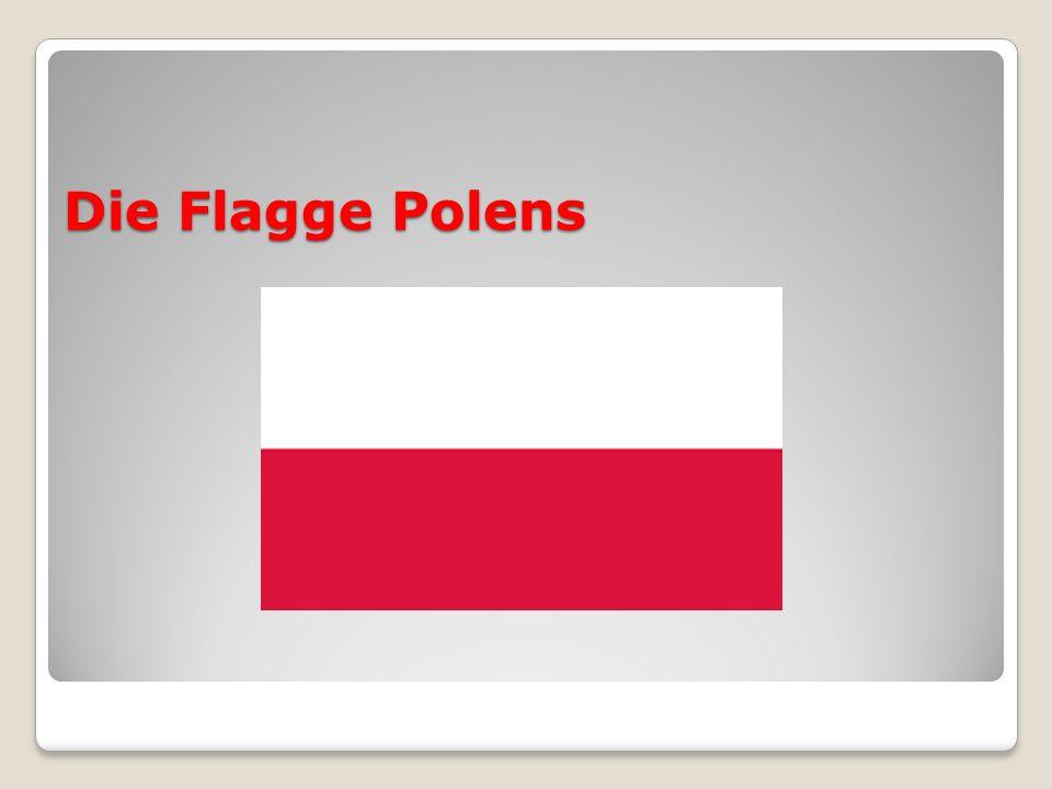 Die Flagge Polens