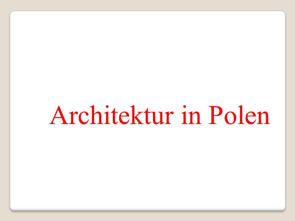 Architektur in Polen
