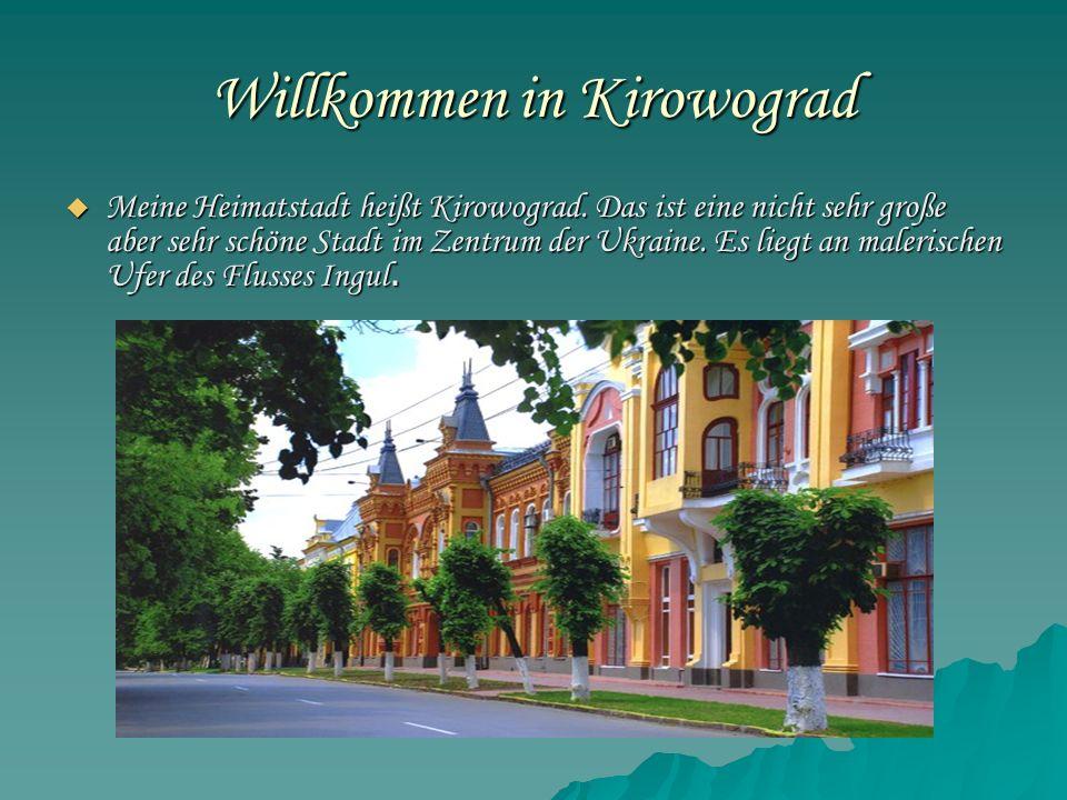 Willkommen in Kirowograd