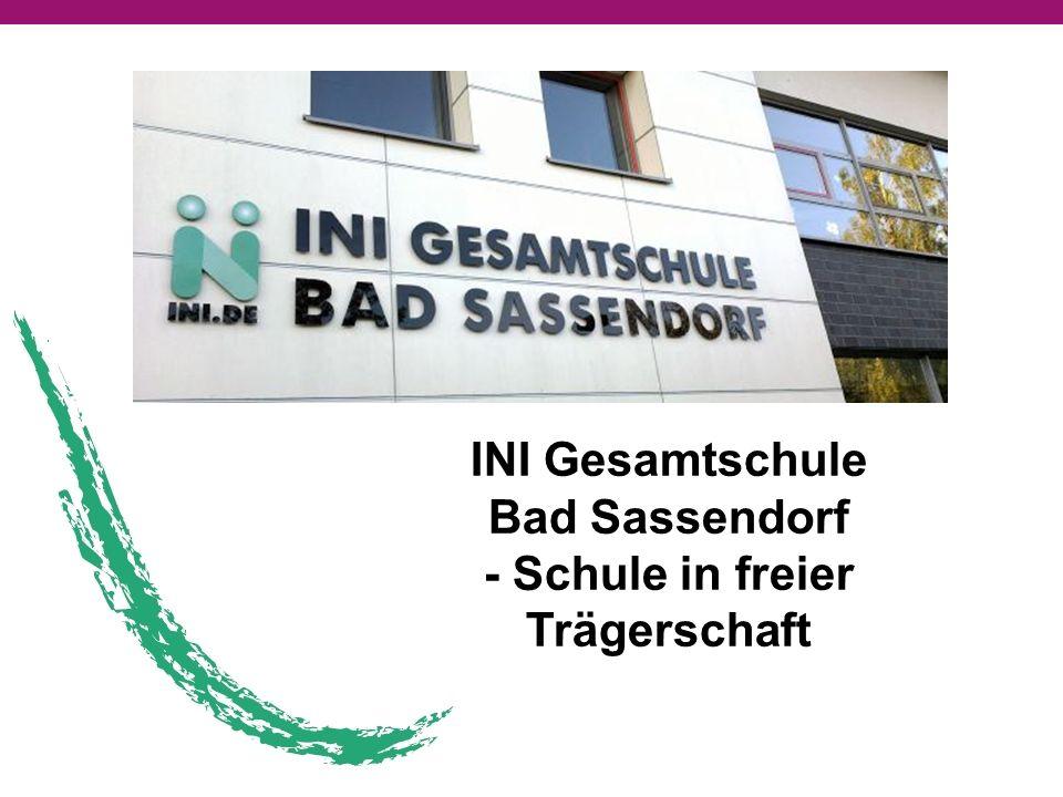 INI Gesamtschule Bad Sassendorf - Schule in freier Trägerschaft