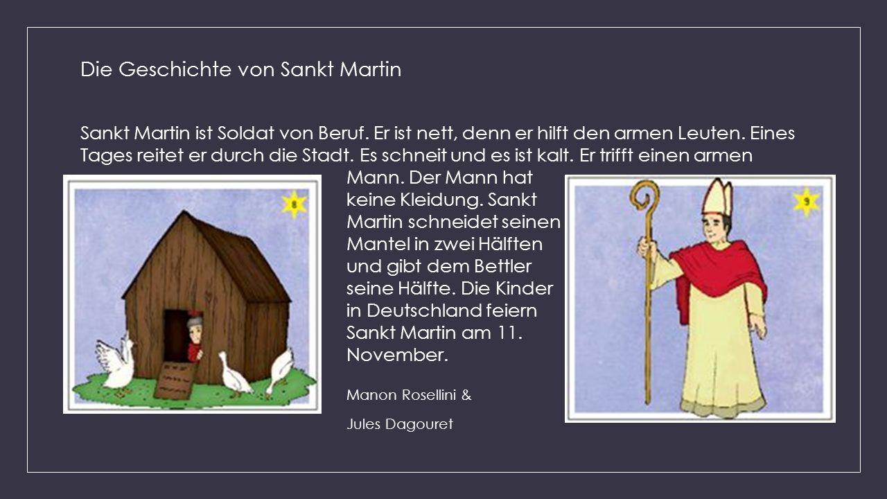 Manon Rosellini & Die Geschichte von Sankt Martin