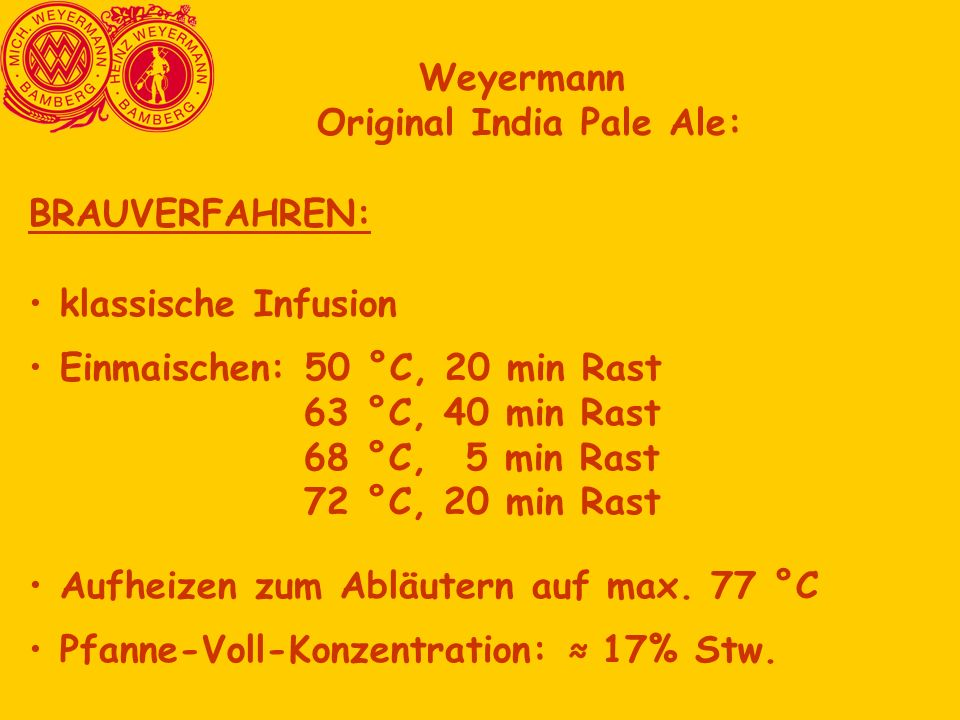 Original India Pale Ale: