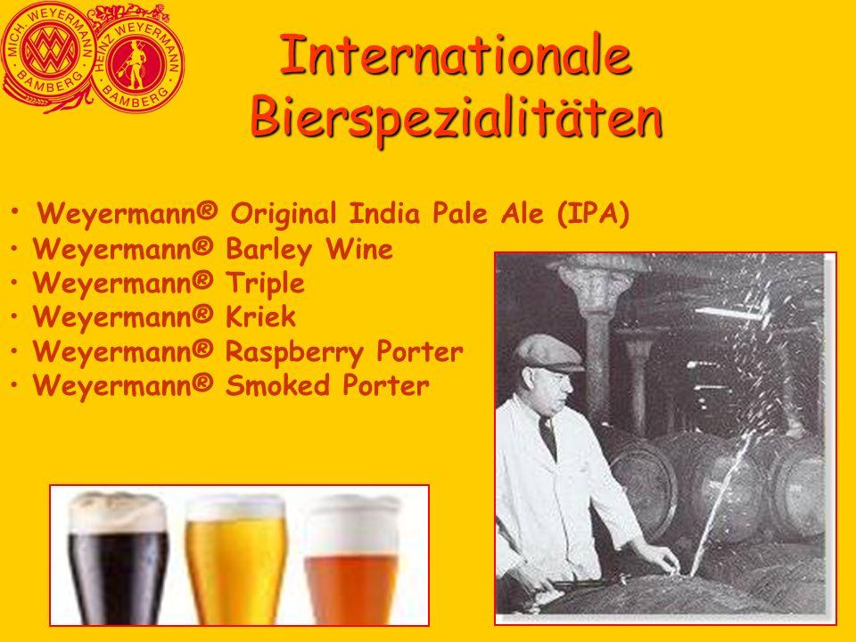 Internationale Bierspezialitäten