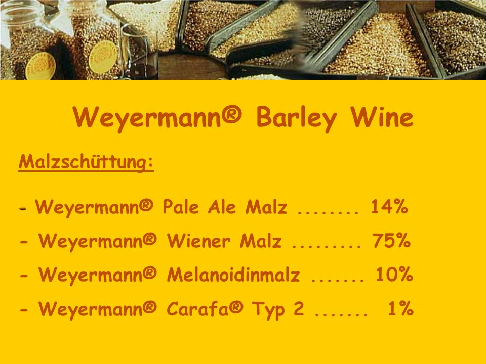 Weyermann® Barley Wine