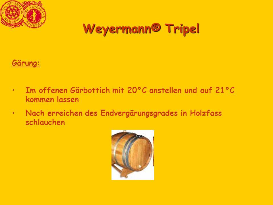Weyermann® Tripel Gärung: