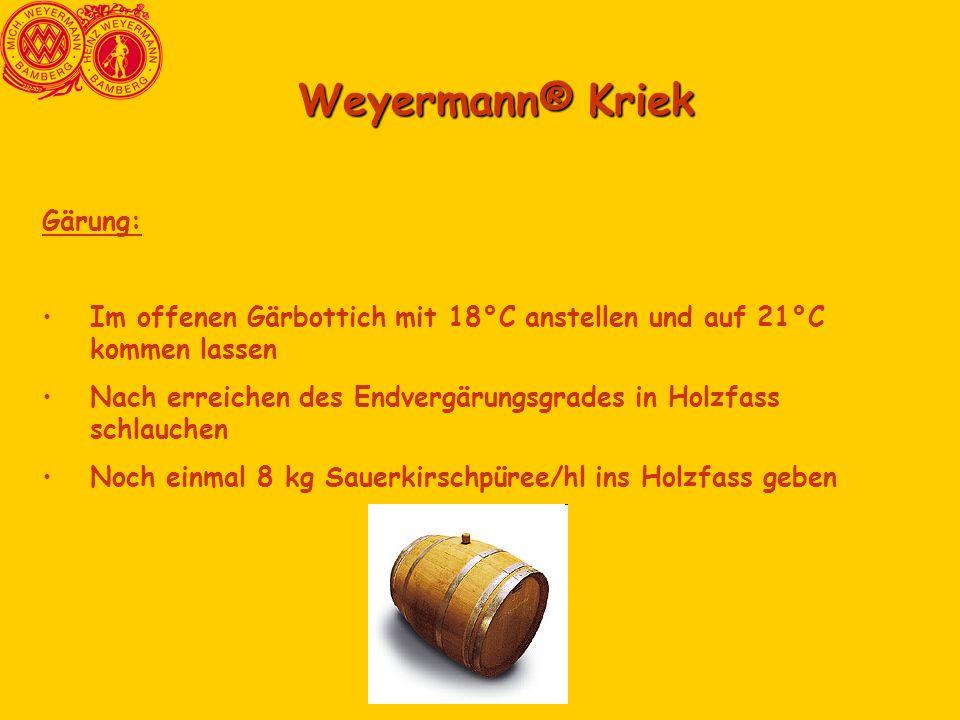 Weyermann® Kriek Gärung: