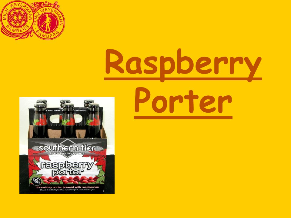 Raspberry Porter 43