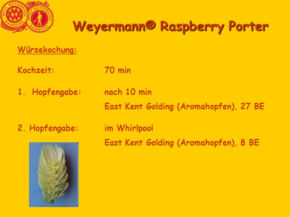 Weyermann® Raspberry Porter
