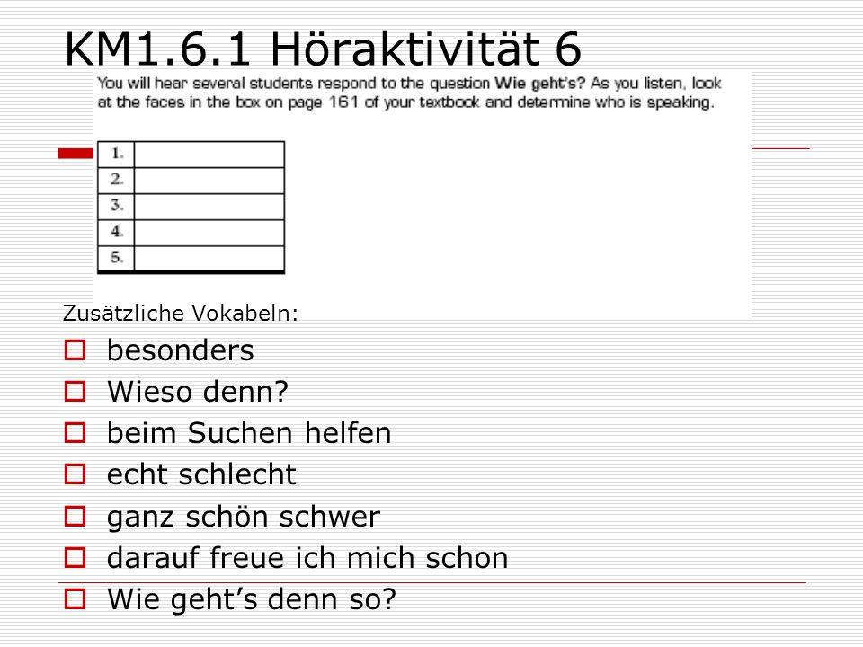 KM1.6.1 Höraktivität 6 besonders Wieso denn beim Suchen helfen
