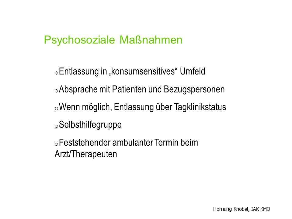 Psychosoziale Maßnahmen
