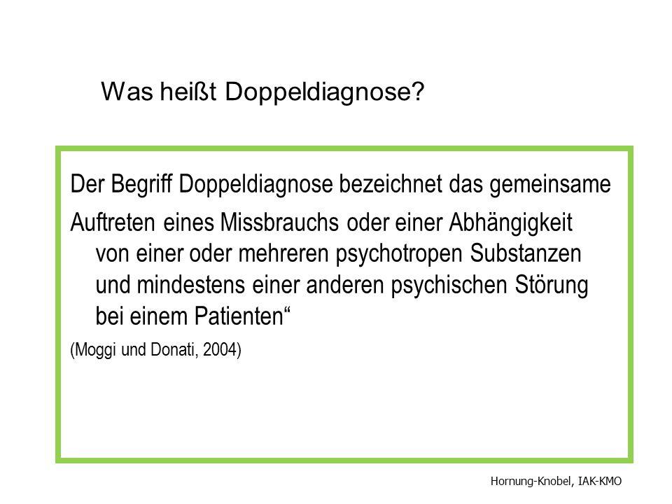 Was heißt Doppeldiagnose