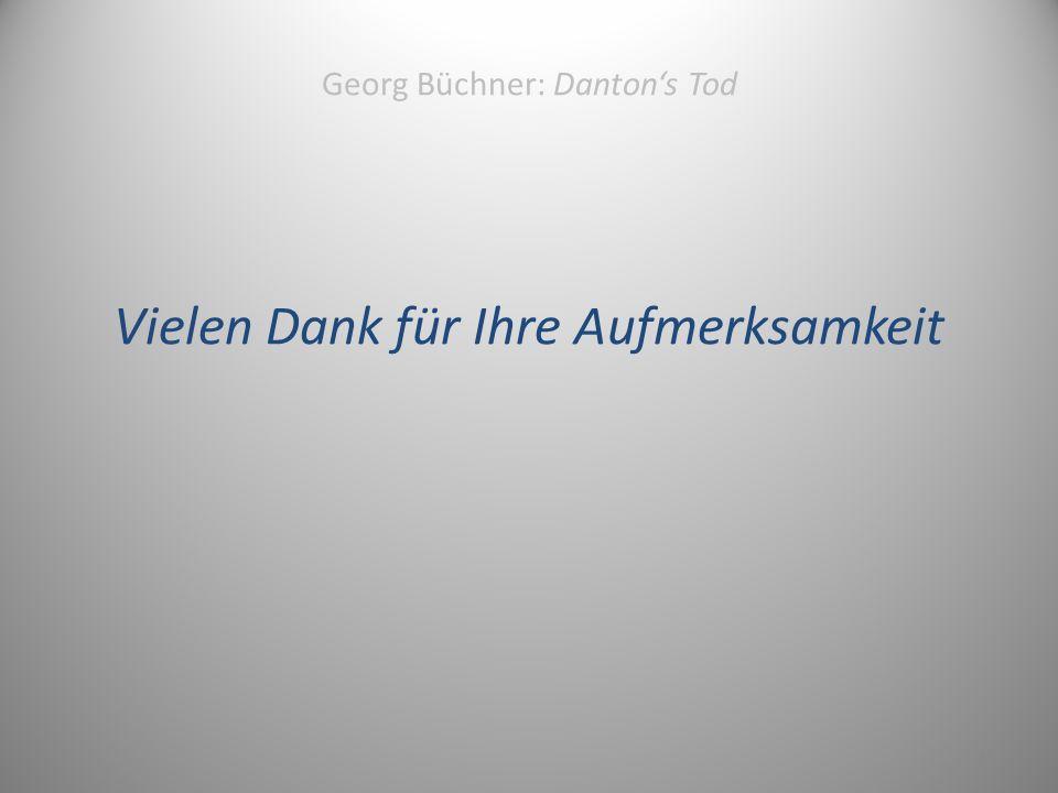 Georg Büchner: Danton's Tod