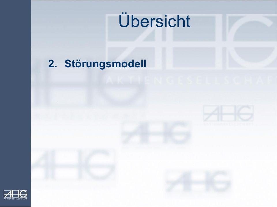 Übersicht 2. Störungsmodell