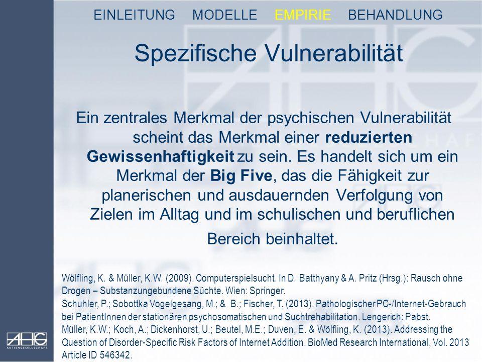 Spezifische Vulnerabilität
