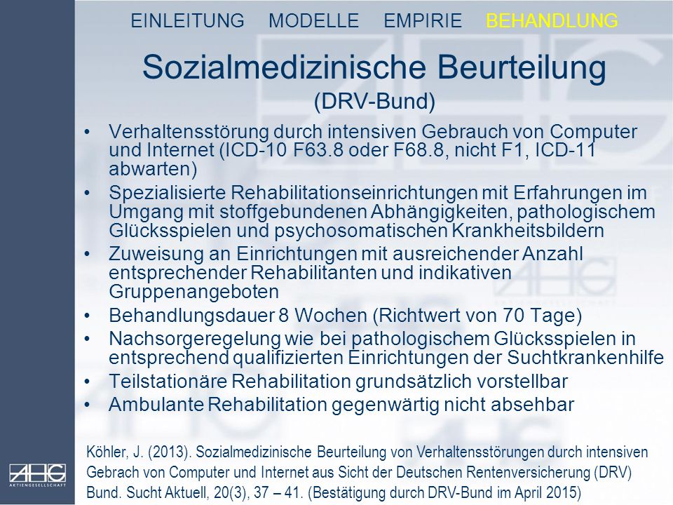 Sozialmedizinische Beurteilung (DRV-Bund)