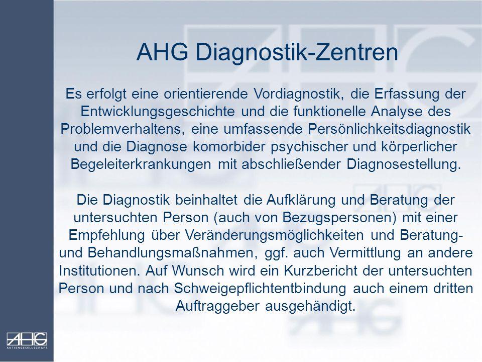 AHG Diagnostik-Zentren