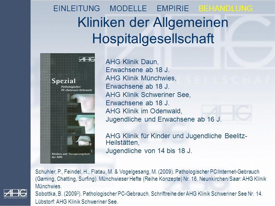 Kliniken der Allgemeinen Hospitalgesellschaft