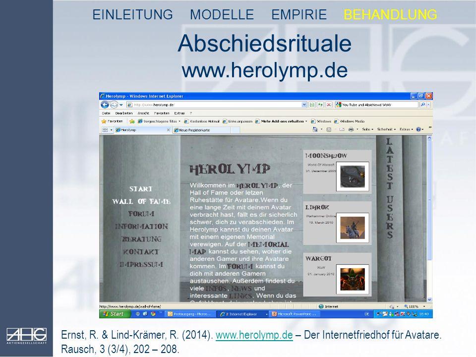 Abschiedsrituale www.herolymp.de