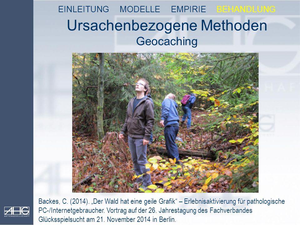 Ursachenbezogene Methoden Geocaching