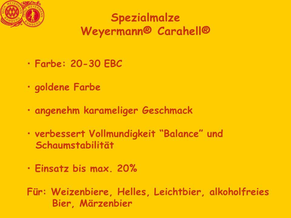 Spezialmalze Weyermann® Carahell®