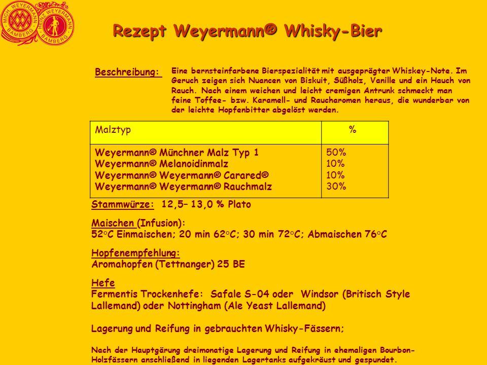 Rezept Weyermann® Whisky-Bier