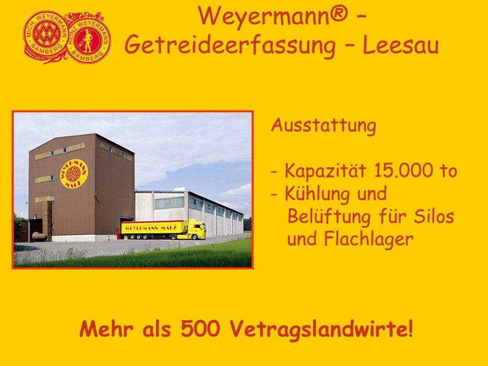 Weyermann® – Getreideerfassung – Leesau
