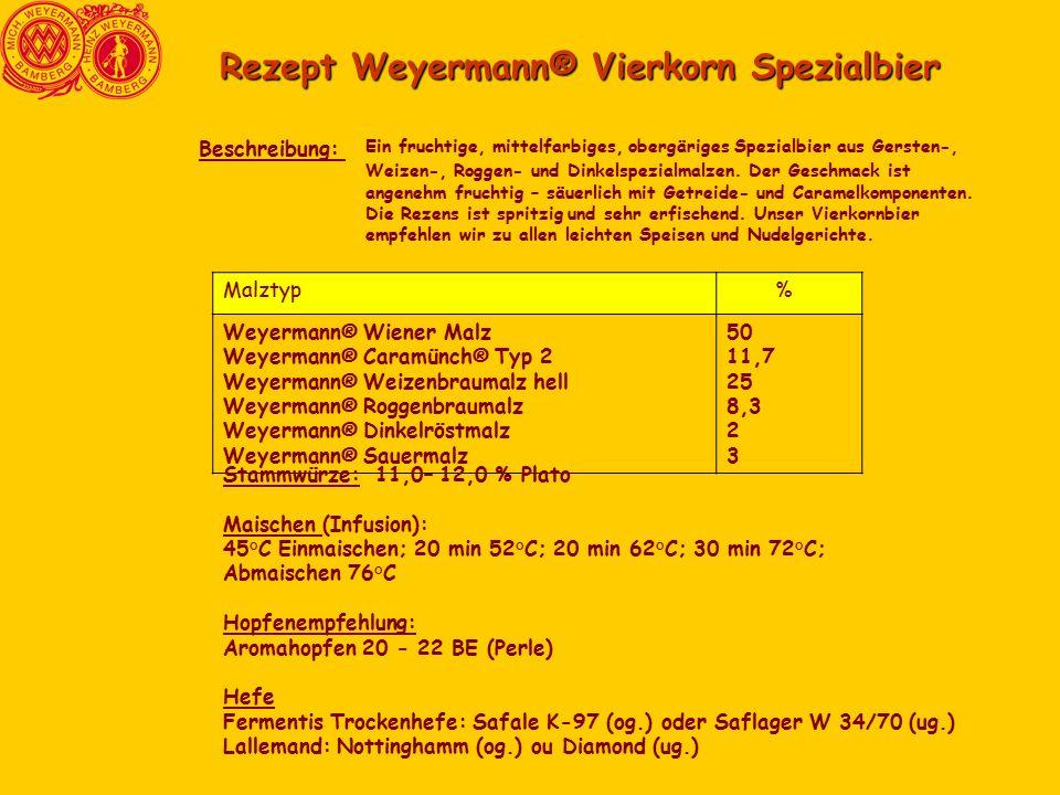 Rezept Weyermann® Vierkorn Spezialbier