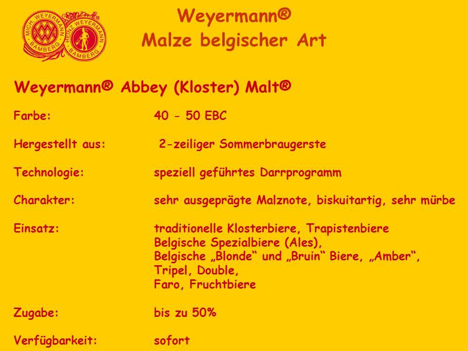 Weyermann® Malze belgischer Art